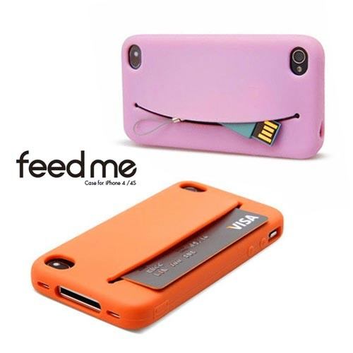Fundas para iPhone Feed me.