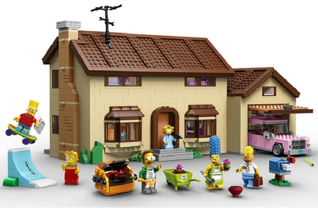 Set Lego de Los Simpsons