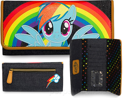 Una cartera y monedero de My little Pony