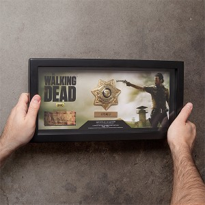 Replica de la placa de sheriff de The Walking Dead