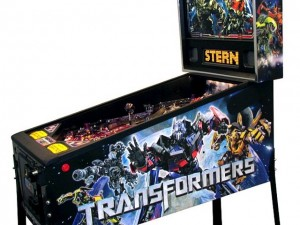 Ten tu propio pinball real de Transformers