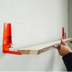 Transforma maderas y tablas en repisas funcionales de pared