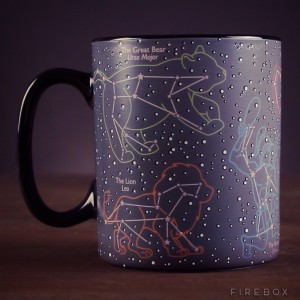 Ten una taza repleta de constelaciones