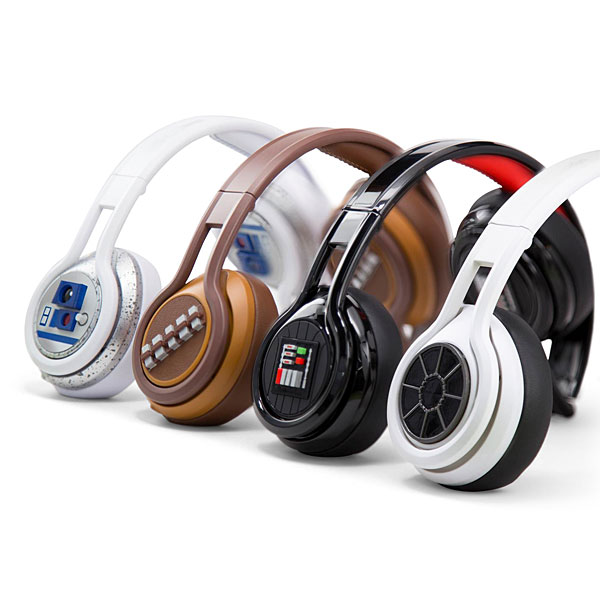 Estos auriculares cool son de Star Wars