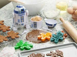 Prepara galletas de Star Wars con estos cortantes