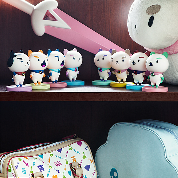 Ten estas figuras de vinilo de Bee y PuppyCat