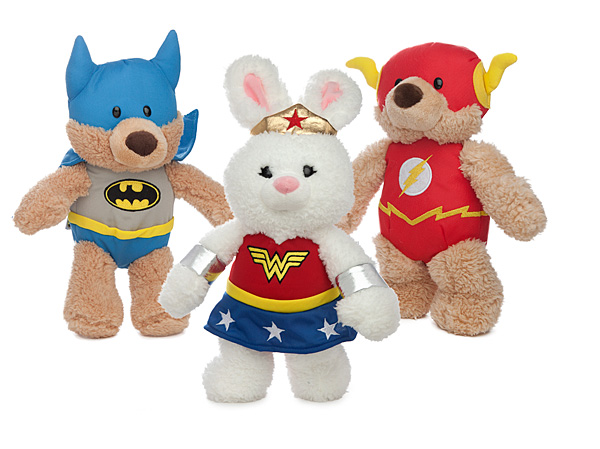 Hermosos peluches de superhéroes de DC